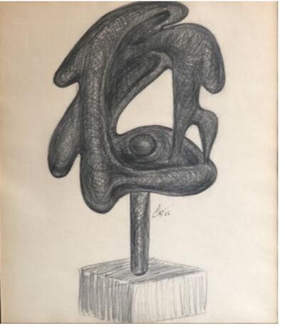 Agustín Cárdenas, 'Project for a sculpture with base', 1955