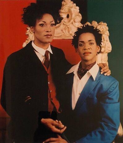 Lyle Ashton Harris, 'Sisterhood (Portrait of Sister and Brother), cibachrome photo print', 1990-1999