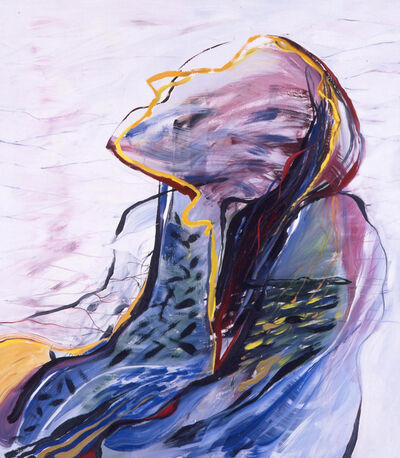 Áron Gábor, 'Contemplative head', 1996
