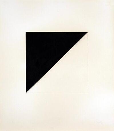 Ellsworth Kelly, 'Diagonal with Black', 1981