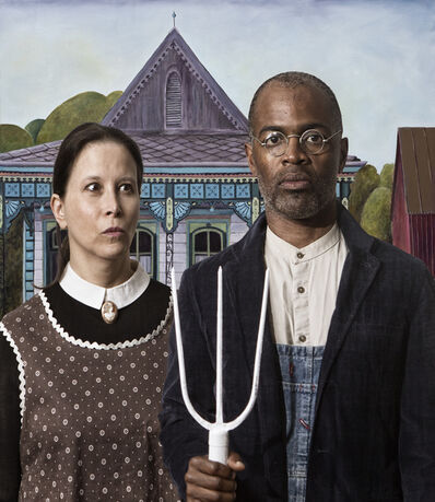 E2 - KLEINVELD & JULIEN, 'Ode to Grant Wood's American Gothic', 2016