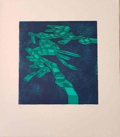 Achille Perilli, 'Quieroverde', 1971
