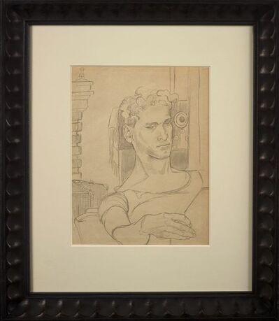 Elaine de Kooning, 'Portrait of Peter (The Artist's Brother)', ca. ca. 1939-40