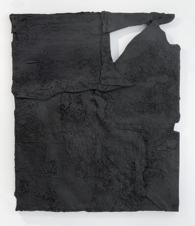 Theaster Gates, 'Water Erosion On Brittle Black Surface', 2018