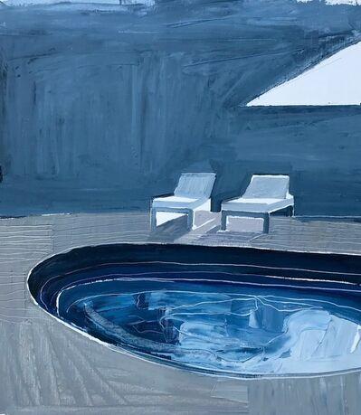 Clara Adolphs, 'Blue Pool', 2017