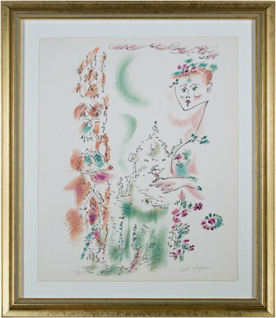 André Masson, 'Venise En Fleurs from Je Reve (I Dream) Portfolio', 1891