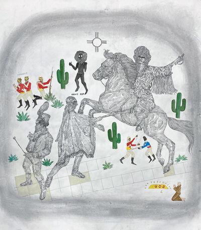 Umar Rashid (Frohawk Two Feathers), 'The Billie Jean Project: Sonoran Desert War (Vengeance part 2)', 2020