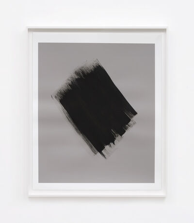 Phil Chang, 'Replacement Ink for Epson Printers (Matte Black on 50% Grey 222602) on Epson Enhanced Matte Paper', 2017