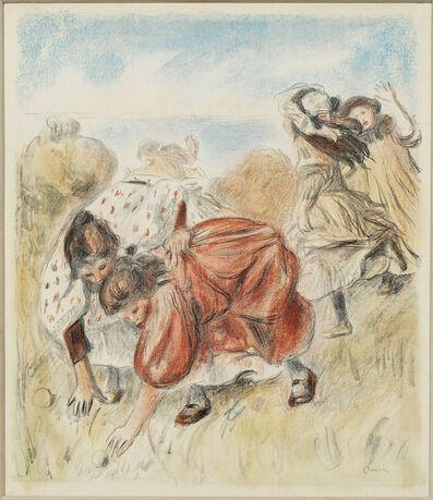 Pierre-Auguste Renoir, 'Enfants jouant à la balle', c. 1900