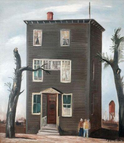 B. J. O. Nordfeldt, 'Santa Fe House', 1934
