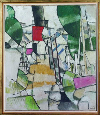 Fernand Léger, 'Le passage à niveau (The Level Crossing)', 1912