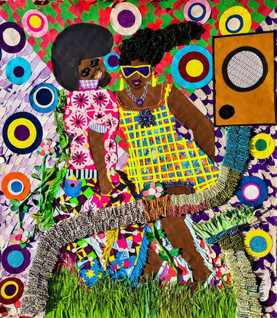 Franklin Mbungu Wabonga, 'Mon coeur ', 2019