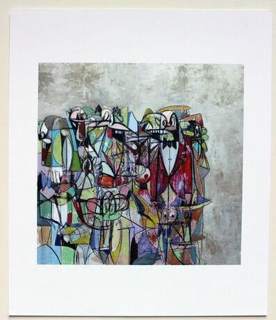 George Condo, 'Plate 13,Compression IV 2011', 2011