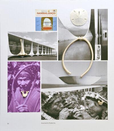 Sergio Vega, 'Intervantions on a book (Modernismo Chamánico Sambalanço)', 2016