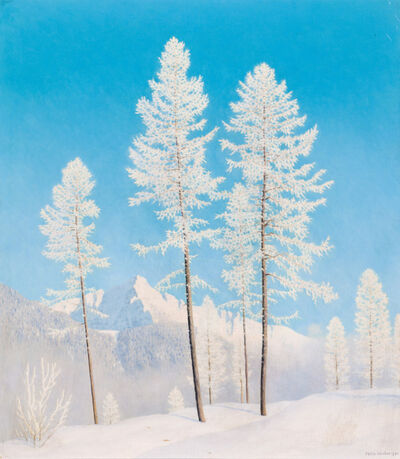 Felix Heuberger, 'Winter Landscape', ca. 1935