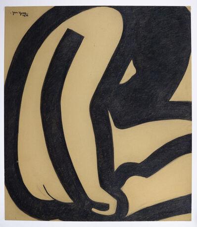 Jan Yoors, 'Jan Yoors, Charcoal Drawing G-50.16A, USA, 1975', 1975