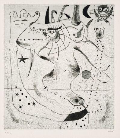 Joan Miró, 'L'Eveil du géant', 1938