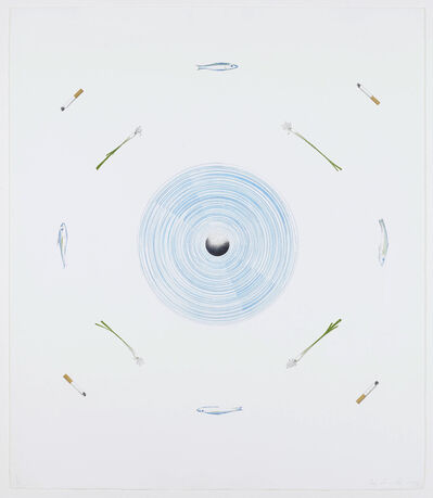 Ed Ruscha, 'The fan and its surroundings', 1982