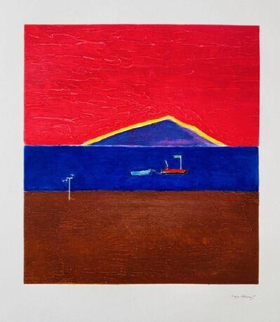 Craigie Aitchison CBE RSA RA, 'Holy island (2001) (signed)', 2001