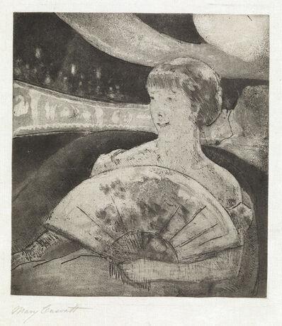 Mary Cassatt, 'In the Opera Box (No. 3)', circa 1880