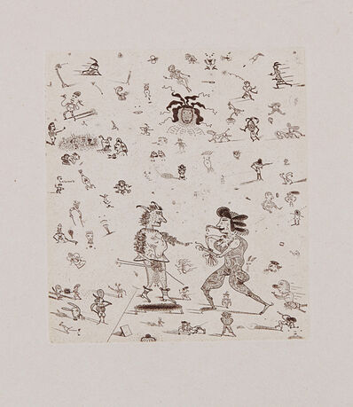 Jim Nutt, 'your so coarse (tish tish)', 1977