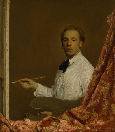 Sidney Edward Dickinson, 'The Artist Giuseppe Trotta', 1916