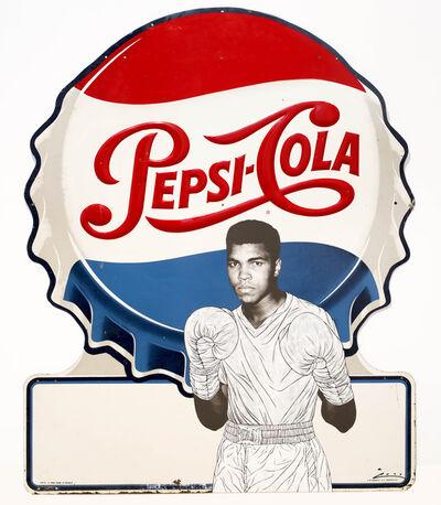 Pakpoom Silaphan, 'Ali Guards on Pepsi', 2014