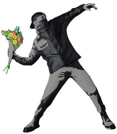 Banksy, 'Medicom-Flower Bomber Black', 2016