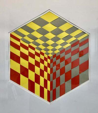 Edoardo Landi, ' Visual structure + chromatic influence', 1964