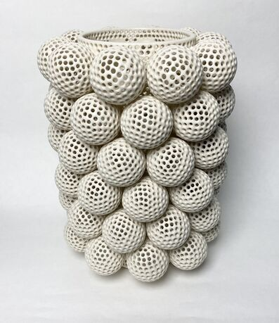 Tony Marsh, 'Perforated Vessel with Attachments', 2020