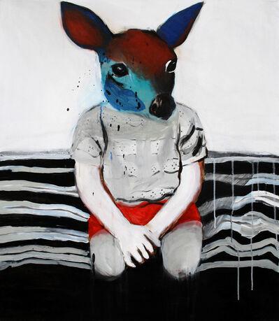 Hanna Ilczyszyn, 'Rainbow deer', 2015