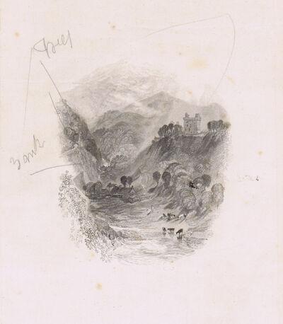 J. M. W. Turner, 'Hermitage Castle', 1834
