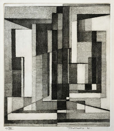 Werner Drewes, 'Central Density', 1976