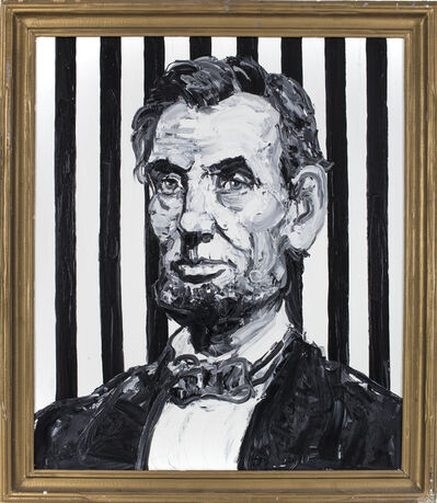 Hunt Slonem, 'Lincoln', 2016