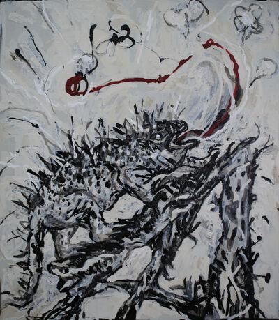 Bae Yoon Hwan, 'An Iguana Slanted', 2019