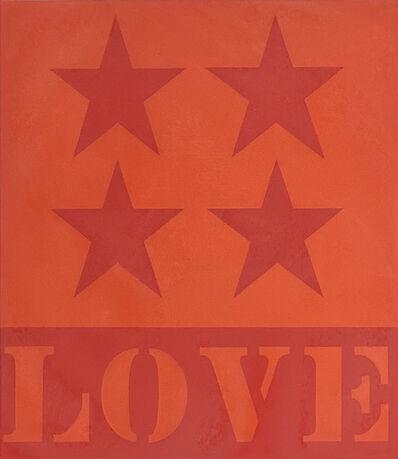 Robert Indiana, 'First Love', 1991