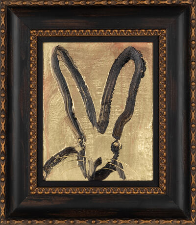 Hunt Slonem, 'Gold Bunny', 2019