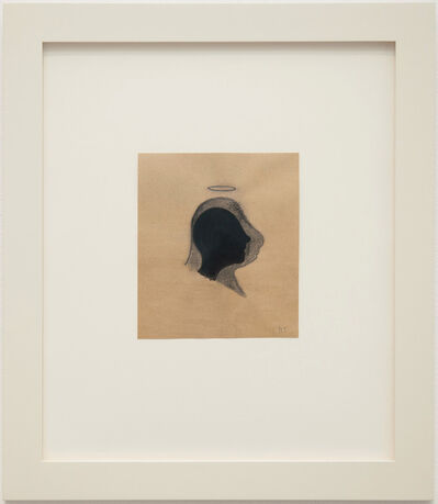 Robert Therrien, 'No title (head with halo)', 2017