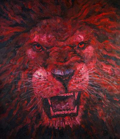 Liu Ruowang, 'Head of a Lion', 2016