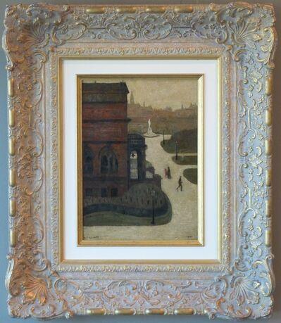 Laurence Stephen Lowry, 'Entrance to Peel Park, Salford', 1929