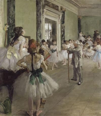 Edgar Degas, 'La classe de danse (The Dance Class)', 1873-1876