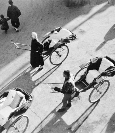 Hedda Morrison, 'Rickshaws', ca. 1940