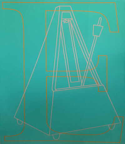 Michael Craig-Martin, 'E', 2007