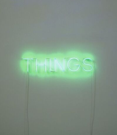 Martin Creed, 'Work No. 260 THINGS', 2001
