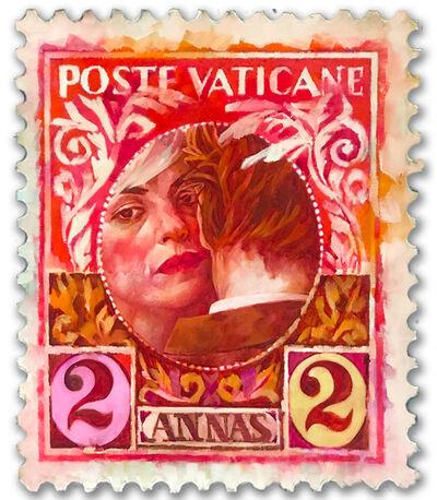 Xenia Hausner, 'Poste Vaticane (Annas)', 2020
