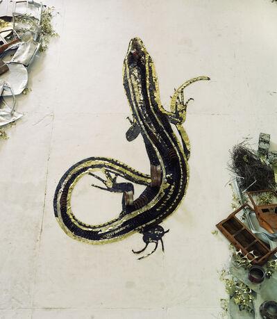 Vik Muniz, 'Salamander (Scrap Metal)', 2012