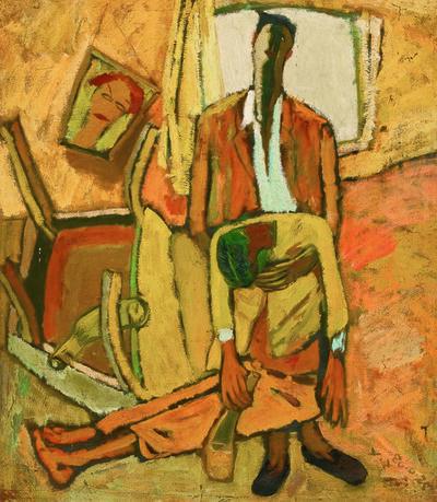 Zhang Yongxu, 'Drunk', 1986