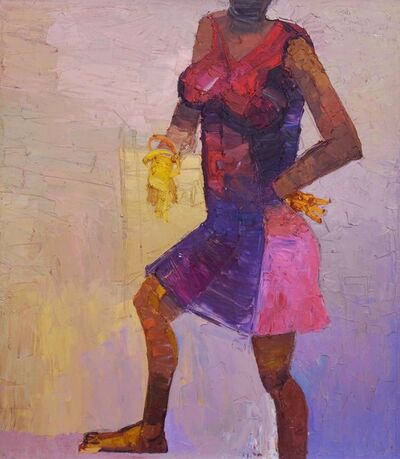 DUKE ASIDERE, 'Lady in a red dress', 2011