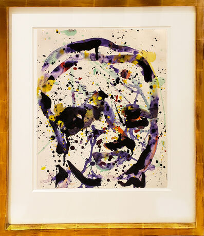 Sam Francis, 'Untitled (SF74-330) (Self-portrait)', 1974