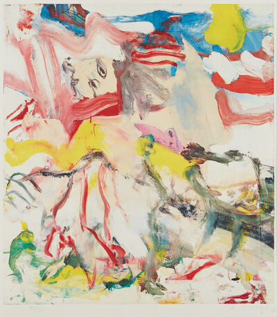 Willem de Kooning, 'Figure in Landscape VI', 1980